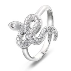 Ring i sølv med zirkonia Engagement Rings, Jewelry, Fashion, Ring, Enagement Rings, Moda, Jewels, Fashion Styles, Schmuck