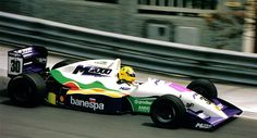 Christian Fittipaldi - Reynard 91D Mugen/Brown - Pacific Racing - LI Grand Prix de Pau 1991