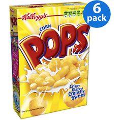 Kellogg's Corn Pops Cereal, 17.2 oz (Pack of 6)
