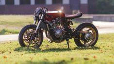 Custom bikes, classic and concept motorcycles from all over the world Concept Motorcycles, Custom Motorcycles, Custom Bikes, Cx500 Cafe Racer, Cafe Racer Motorcycle, Cafe Racers, Scrambler, Super Cafe, Bobber Custom