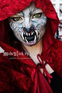 red riding hood werewolf costume - Google Search