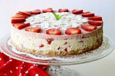 Zdravý+recept:+Raw+jahodový+cheesecake
