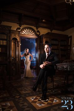 8032e8839be A Stunning Winter Wedding at The Newhall Mansion