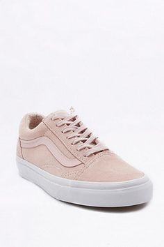 Vans Old Skool Pink Suede Trainers