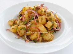 yetur'la lezzet kareleri: patates salatası