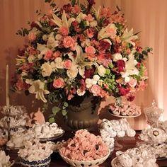 ornamentação com tons de marsala,marrom, verde, rosa e branco - Pesquisa Google