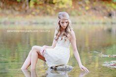 Alana…Ohio Water Play Senior Session | Senior Style Guide