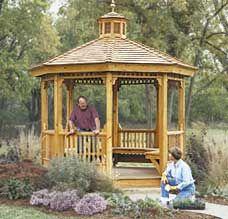 Gazebo Plan - Build a Garden Gazebo