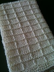 Ravelry: Waffle Preemie Blanket pattern by Lisa Thomas