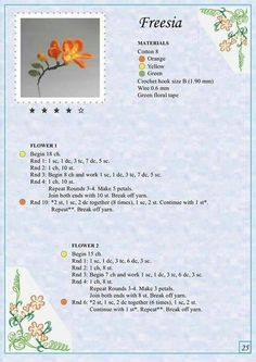 Мобильный LiveInternet Альбом «The Book of Crochet Flowers Crochet Puff Flower, Crochet Flower Patterns, Crochet Designs, Crochet Motifs, Crochet Diagram, Crochet Stitches, Irish Crochet, Diy Crochet, Crochet Crafts
