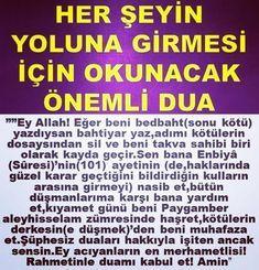 Ayet Hadis En Büyük Dualar | www.1ses.net #1sesnet #Allah #ayet #dua #hadis Holy Quran, Allah, Prayers, Instagram Posts, People, Decor, Bag, Decorating, God