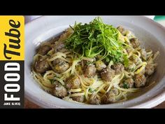 Linguine with Steamed Meatballs | Gennaro Contaldo - YouTube