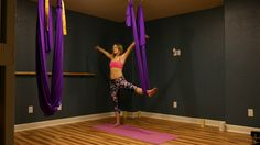 Yoga Aerial Swing: Lesson 1 for Beginners