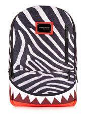 Sprayground Zebra Shark Backpack*