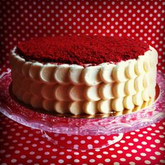 Red Velvet Cake Recipe, Bakemania, The Buttercup Bake shop Red Velvet Desserts, Red Velvet Recipes, Cake Recipes, Dessert Recipes, Yummy Recipes, No Bake Treats, Party Cakes, My Favorite Food, Cupcake Cakes