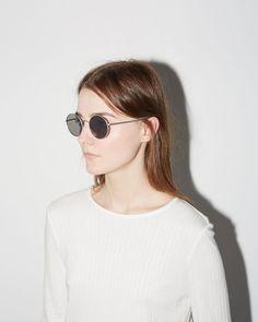 The Row x Oliver Peoples | After Midnight Sunglasses | La Garçonne
