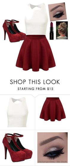 """""""Preppy year"""" by madilynbodle on Polyvore featuring Smashbox, women's clothing, women's fashion, women, female, woman, misses and juniors"""
