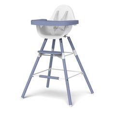 Childhome Evolu 2 Complete Baby Highchair - Blue Sea