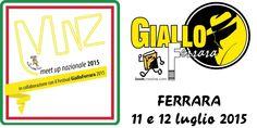 MUNZ Ferrara 2015 durante il festival di GialloFerrara