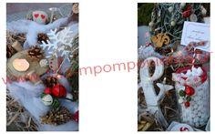 ΣΤΟΛΙΣΜΟΣ ΓΑΜΟΥ - ΒΑΠΤΙΣΗΣ :: Στολισμός Γάμου Θεσσαλονίκη και γύρω Νομούς :: ΧΡΙΣΤΟΥΓΕΝΝΙΑΤΙΚΟΣ ΣΤΟΛΙΣΜΟΣ ΓΑΜΟΥ ΣΤΟ ΩΡΑΙΟΚΑΣΤΡΟ - ΚΩΔ: CRIS-012 Ladder Decor, Christmas Wreaths, Table Decorations, Holiday Decor, Home Decor, Christmas Swags, Homemade Home Decor, Holiday Burlap Wreath, Interior Design