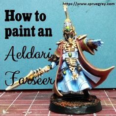 I'm walk you through how to paint an Aeldari (Eldar) Farseer. I feel in love with Eldar back in 1990 and wanted to revisit that with this miniature. Eldar Farseer, Used Video Games, Warhammer 40k, Statue Of Liberty, Army, Miniatures, Christmas Ornaments, Holiday Decor, Painting