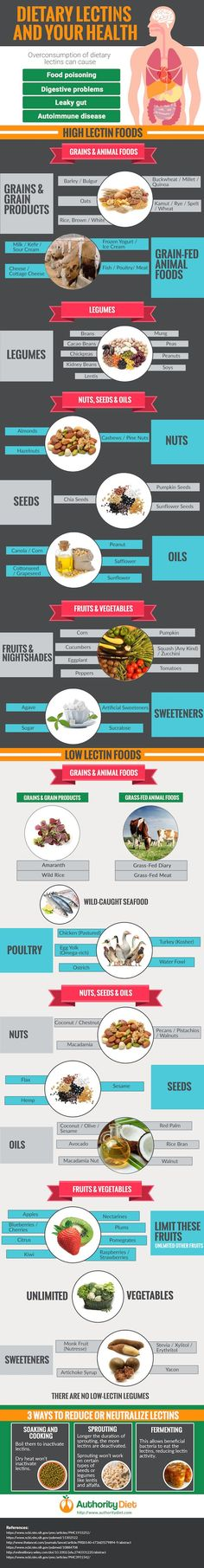 Is Dietary Lectins? Everything You Should Know - Infographic What Is Dietary Lectins? Everything You Should Know - InfographicWhat Is Dietary Lectins? Everything You Should Know - Infographic Low Lectin Foods, Lectin Free Foods, Lectin Free Diet, Low Carb Dinner Recipes, Diet Recipes, Healthy Recipes, Plant Paradox Diet, Lectins, Healthy Diet Tips
