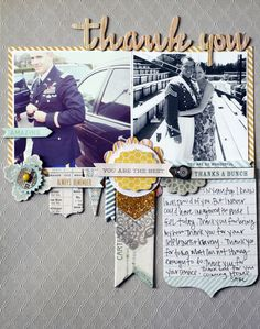 MME Lost and Found 3-Ruby:Grey Quatrefoil paper;Lost and Found 3-Oliver:Lace Fan patterned paper,chipboard elements,decorative tape;The Sweetest Thing-Bluebell:layered stickers,decorative brads,The Sweetest Thing-Honey:layered stickers;The Sweetest Thing-Tangerine:chipboard elements;Misc:American Crafts thickers,adhesive,precision pen