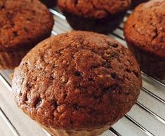 Recipe Chocolate and Zucchini Muffins by KrissyB - Recipe of category Baking - sweet