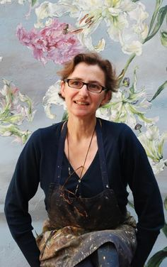 CLAIRE BASLER Portrait --Wow! I want to see some of her originals!