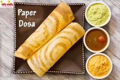 #Crispy Paper #Dosa is a super-star whose fame has carried it from #SouthIndia to all over the world! Taste it IDLY VIDLY @ E-91, SOBO Center, South Bopal, Ahmedabad 380058