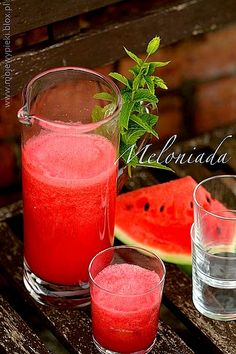 Meloniada Alcoholic Drinks, Beverages, Cocktails, Punch Bowls, Watermelon, Smoothies, Grilling, Life Hacks, Fruit