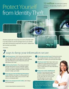 Protect Yourself from Identity Theft - Page 1 - #RealEstate #Weston #Florida