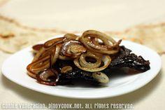 Pork chops with balsamic vinegar