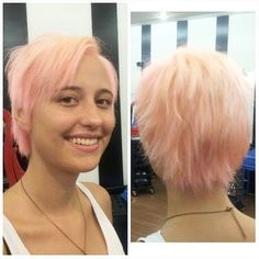 We are back! Cotton Candy Pink by Pree Silva #circushair #circuspamplona #hair #color #fashion #style