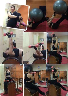 Flavia Assaife training Pilates