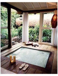 Jacuzzi Outdoor, Outdoor Spa, Jacuzzi Tub, Diy Hottub, Outdoor Living, Whirlpool Deck, Sunken Hot Tub, Hot Tub Room, Hot Tub Backyard
