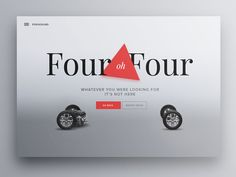Webdesign - 404 design