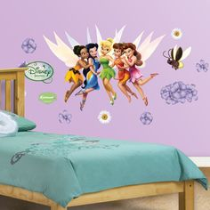 Fathead Jr. Disney Fairies Wall Decals | Overstock.com Shopping - The Best Deals on Wall Stickers
