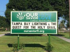 Church sign, playoff edition: Part 19 | #TBLightning #StanleyCupPlayoffs2015