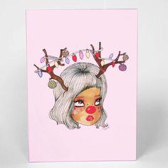 Reindear Greeting Card #valfrewishlist