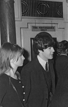 Paul with Jane Asher