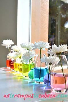 Seguro que mas de un vaso de centro de mesa vuela #bodas #decoracion #gay #flores