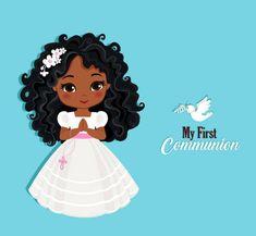 Catholic Communion, Première Communion, First Communion, Paper Cake, Design Elements, Invitations, Disney Princess, Drawings, Creative