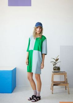 Dusen Dusen Makes The Perfect, Printed, Lazy-Girl Dress  #refinery29