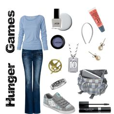 Hunger Games, created by jessica-standley on Polyvore