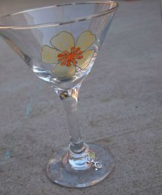 Handpainted Wine Glasses Anyone Can Create – #marthastewartcrafts
