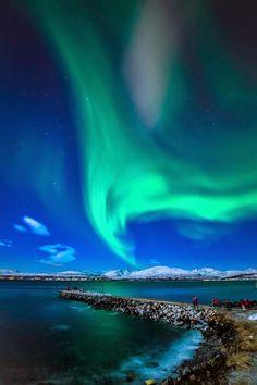 Tromso, Norway - Under the night sky