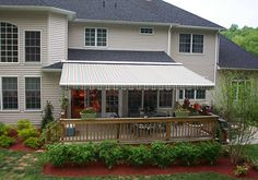 The Eclipse® is our most popular model, offering maximum value for your investment. This awning can be mounted just about anywhere, including a specially designed roof mount.