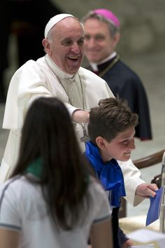Pope Francis -- Meeting with Jesuit schools