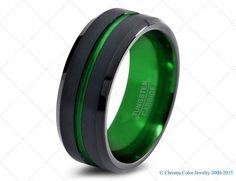 2015 Must Have Handmade Colored Tungsten Carbide Wedding Bands  High Quality In style Colored Tungsten Carbide Wedding Bands  - Comfort Fit -